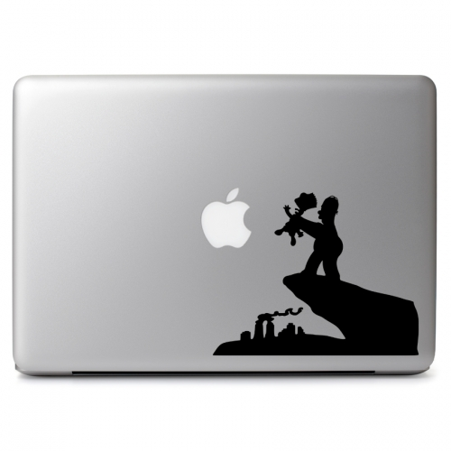 The Simpsons Bart and Homer Lion King Parody - Apple Macbook Air Pro 11