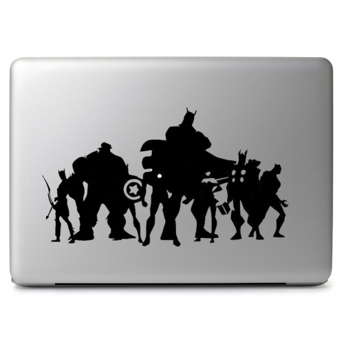 Avengers Eight Heros - Apple Macbook Air Pro 11