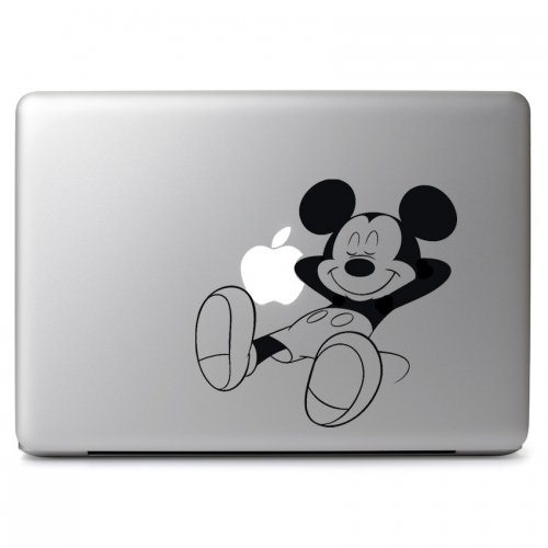 Mickey Sleeping and Relaxing - Apple Macbook Air Pro 11