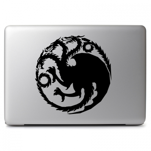 Game of Thrones Ice and Fire House Targaryen Fire and Blood - Apple Macbook Air Pro 11