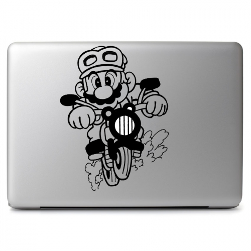 Mario Motocycle - Apple Macbook Air Pro 11