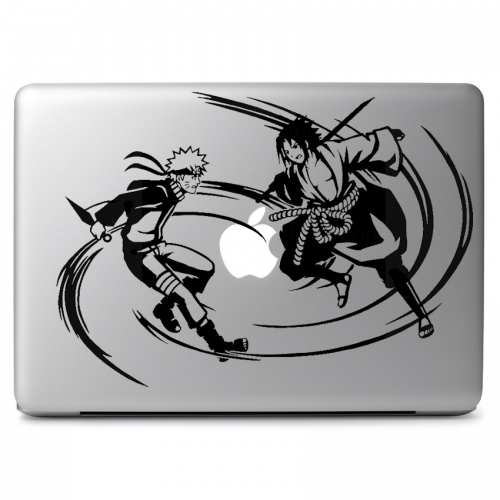 Naruto & Sasuke Fighting - Apple Macbook Air Pro 11