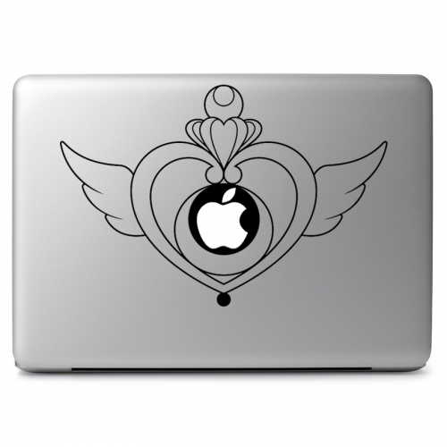 Sailor Moon Crisis Moon Compact Sailor Locket - Apple Macbook Air Pro 11