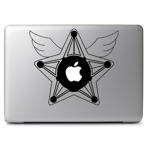 Sailor Moon Star Locket - Apple Macbook Air Pro 11