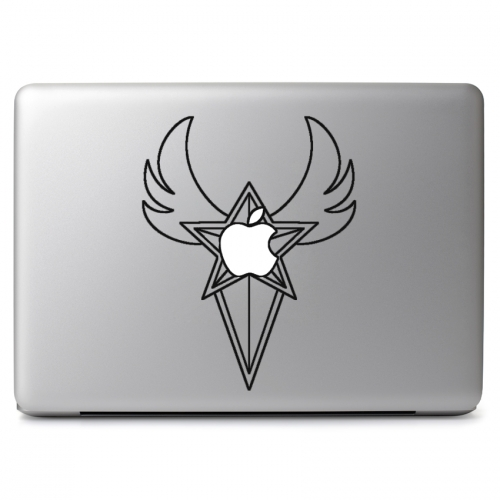 Sailor Moon Starlights Brooch - Apple Macbook Air Pro 11