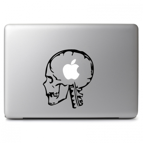 Human Skull - Apple Macbook Air Pro 11