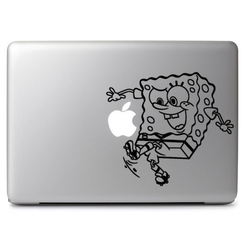 SpongeBob SquarePants Playing Soccer - Apple Macbook Air Pro 11