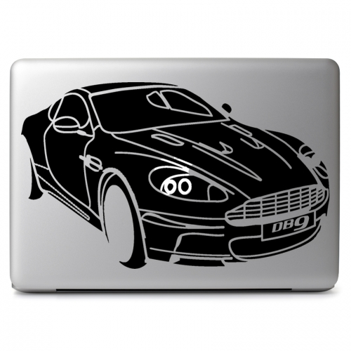 "Aston Martin DB9 Volante - Apple Macbook Air Pro 11"" 13"" 15"" 17"" Vinyl Decal Sticker"