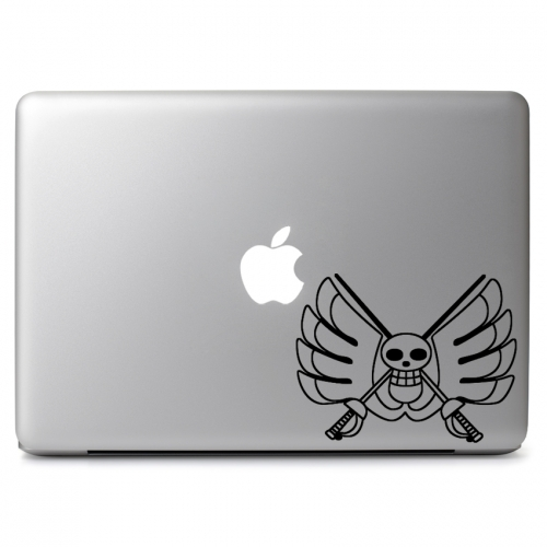 One Piece Baroque Works Logo - Apple Macbook Air Pro 11