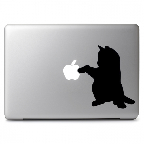 Curious Kitty Cat - Apple Macbook Air Pro 11
