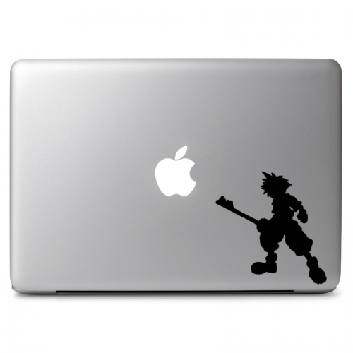 Destiny Kingdom Hearts Sora Silhouette - Apple Macbook Air Pro 11