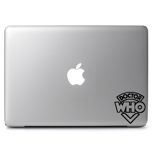Doctor Who Logo - Apple Macbook Air Pro 11