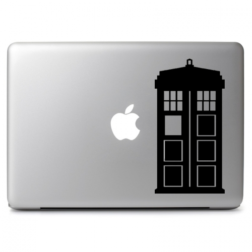 Doctor Who Telephone Booth Tardis - Apple Macbook Air Pro 11