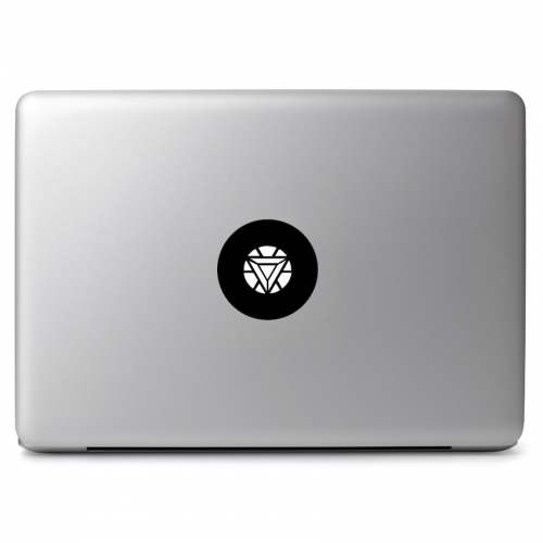 Marvel Comics Iron Man Glowing Mark IV Arc Reactor - Apple Macbook Air Pro 11