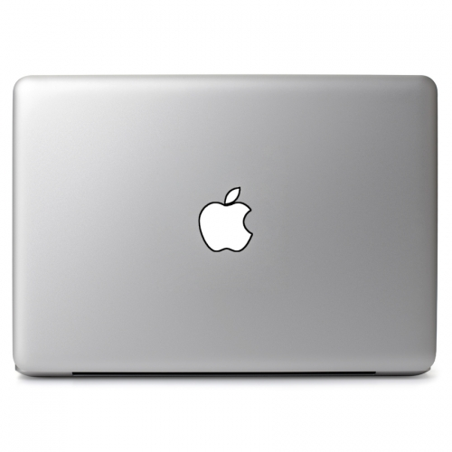 Macbook apple logo outline drawing apple macbook air pro 11