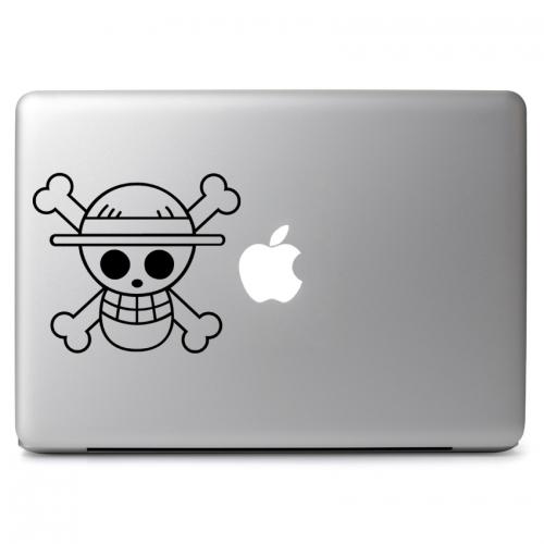 One Piece Monkey D. Luffy Skull Logo - Apple Macbook Air Pro 11