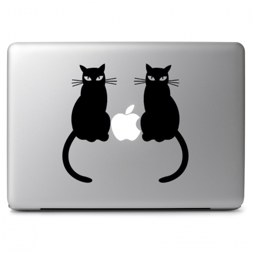 Two Cats - Apple Macbook Air Pro 11